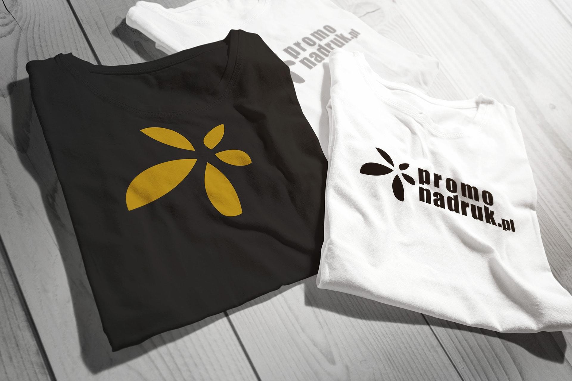 Zadrukowane koszulki metodą sitodruku